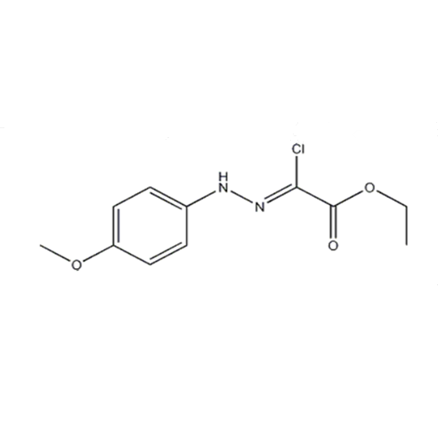 Ethyl chloro[(4-methoxyphenyl)hydrazono]acetate ; 27143-07-3