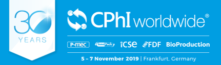 We will visit CPhI worldwide in Frankfurt,Germany during November 5th - 7th.