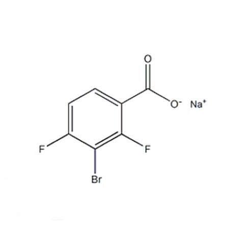 Sodium 3-Bromo-2,4-difluorobenzoate