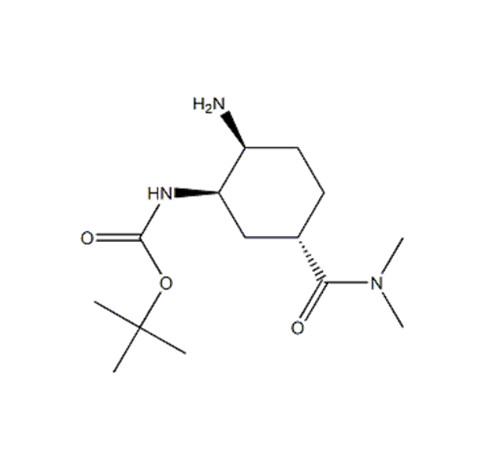 tert-butyl N-[(1R,2S,5S)-2-amino-5-(dimethylcarbamoyl)cyclohexyl]carbamate